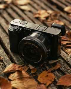 close up photo of digital camera