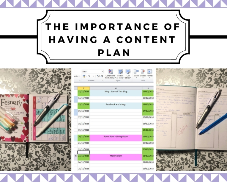the importance of having a content plan