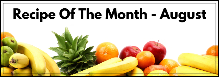 Recipe Of The Month - August(2)